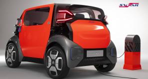 Ami One Concept от Citroen – альтернатива скутерам и велосипедам